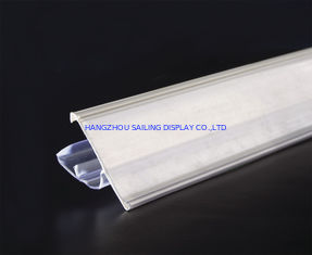 Trung Quốc Eco-friendly Custom Plastic Shelf Data Strips for Supermarket , White nhà máy sản xuất