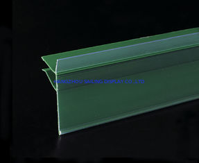 Trung Quốc Green PVC Data Strip Sign Holder for Mall Shelves And Price Tag Inserted nhà máy sản xuất
