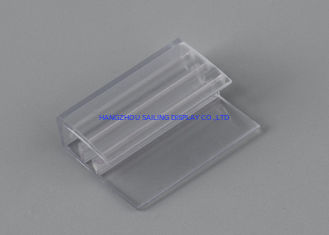 Trung Quốc Customized Sign Holder Ragid and Flexible PVC , Hinges with Adhesive Bottom nhà máy sản xuất