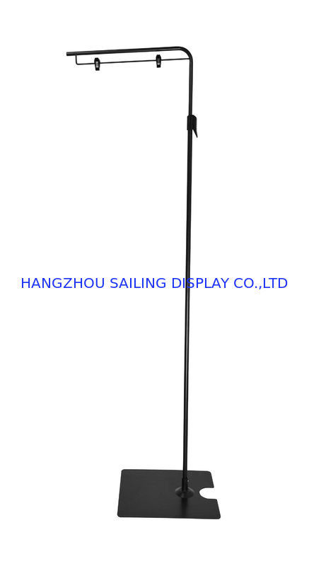 Advertising Floor Standing Sign Holders M380mm With Two Wire Clips For Poster nhà cung cấp