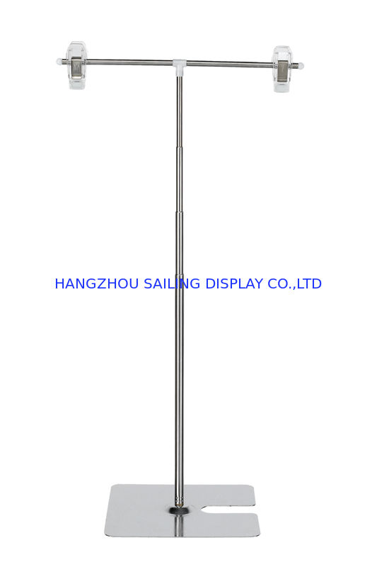 Pop Counter Retail Sign Holders , Poster Holder Clip 220-800mm Height nhà cung cấp